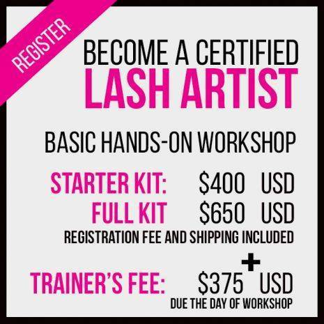 Basic Eyelash Extension Training & Certification
