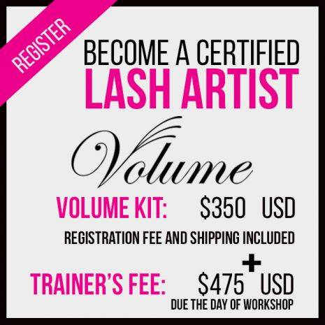 Volume Lash Training in Santa Clara, California